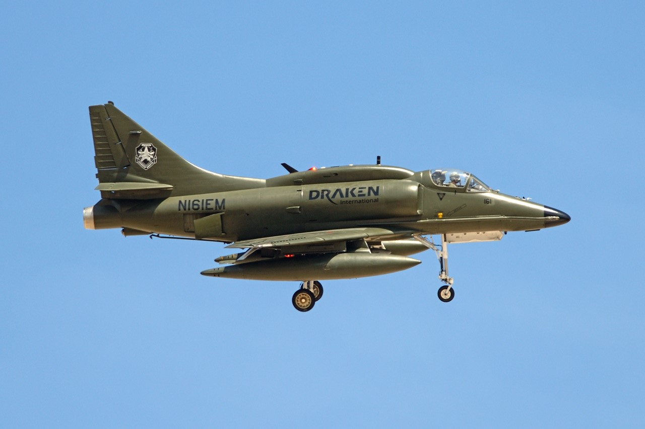 Douglas A-4K Skyhawk [Jamie Hunter]