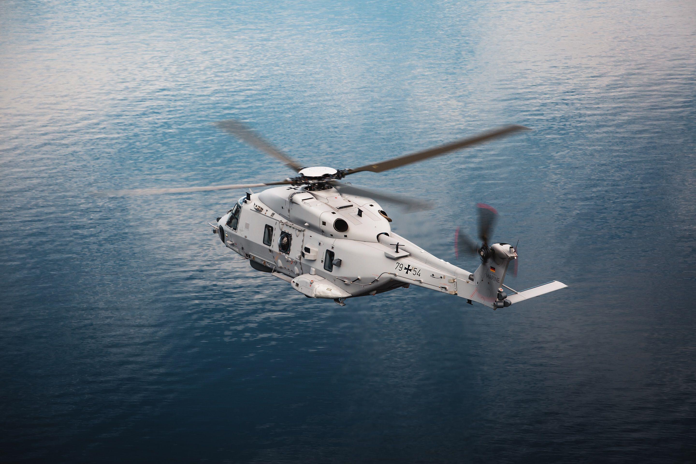 German Navy NH90 Sea Lion
