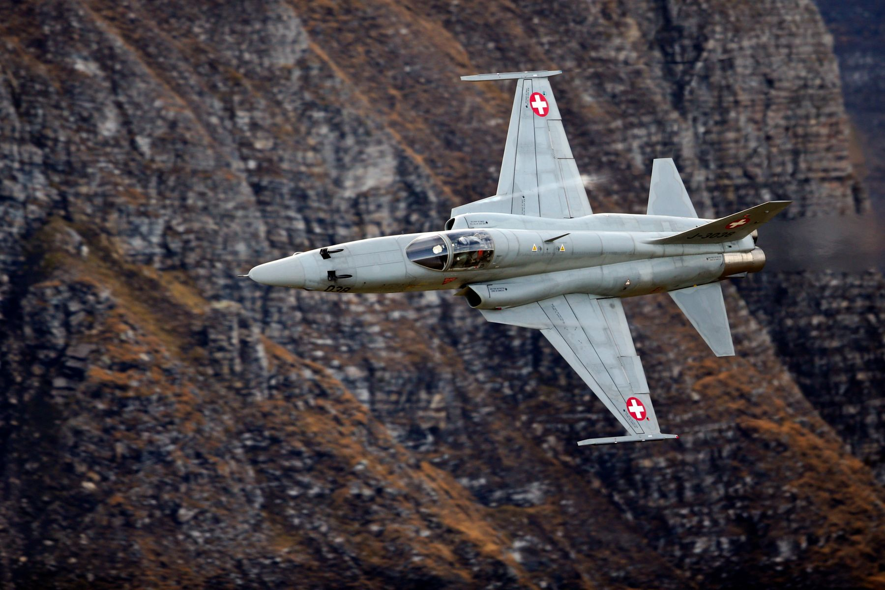 Swiss F-5E [Swiss Armed Forces/Philipp Schmidli]