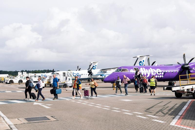 Flybe Collapse [Southampton Airport] #1
