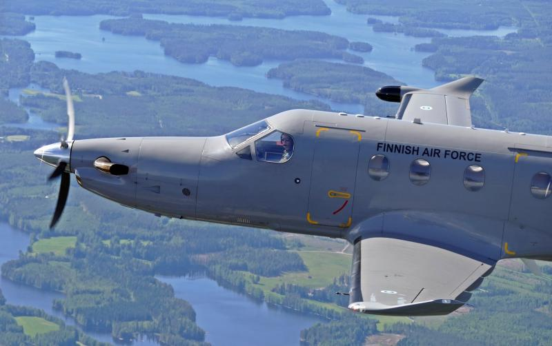 PC-12NG [Finnish Air Force via Twitter] #1