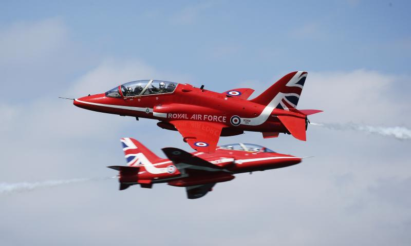 RAFAT Red Arrows [MoD Crown Copyright/Cpl Steve Buckley] #1