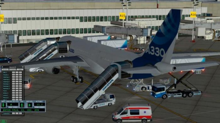 The ground services are a fantastic addition to this A330 package