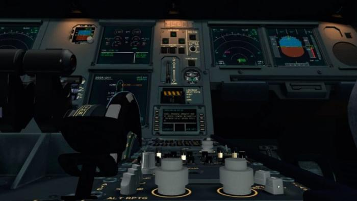 There's no doubt that JAR Design has gone to town with the A330's cockpit. It is simply stunning