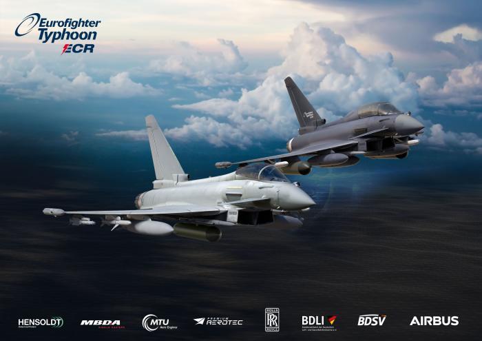 Eurofighter Typhoon ECR