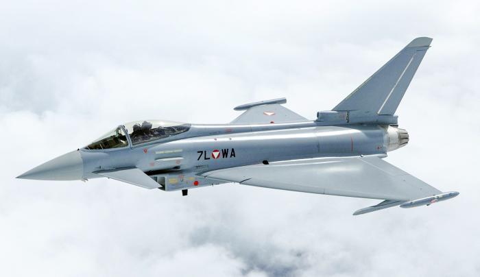 Austrian Typhoon [Bundeswehr/Markus Zinner]