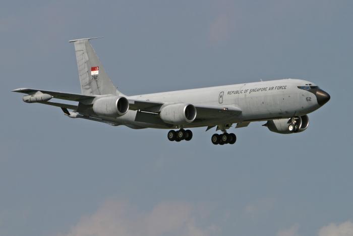 RSAF KC-135R [Aviation Image Network/Bailey]