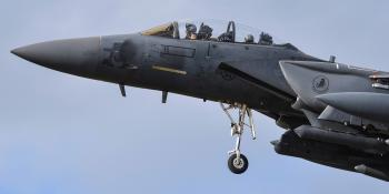 Strike Eagle Fighter Jet